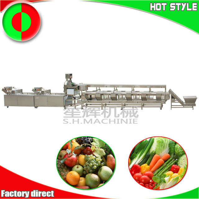 Machine de traitement de fruits et légumes
